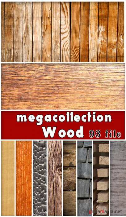 Megacollection textures - Wood