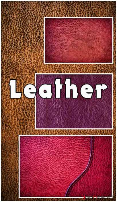 Textures - Leather