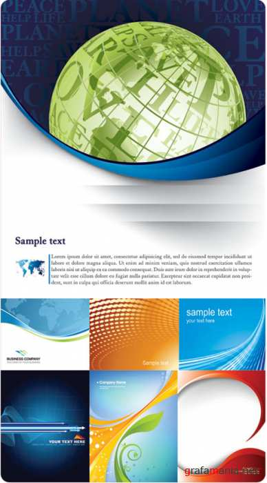 Backgrounds vector 5