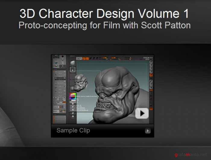 "Gnomon Training - 3D Character Design Vol.1 ""Proto-concepting for Film with Scott Patton"""