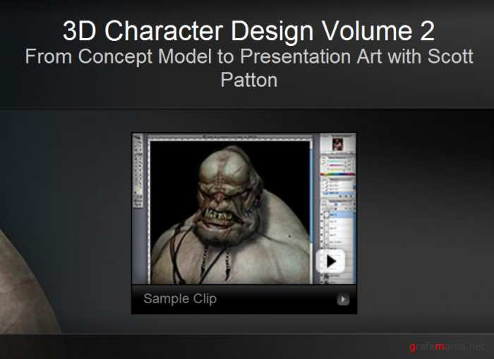 "Gnomon Training - 3D Character Design Vol.2 ""From Concept Model to Presentation Art"""
