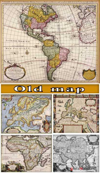 Textures - old world maps