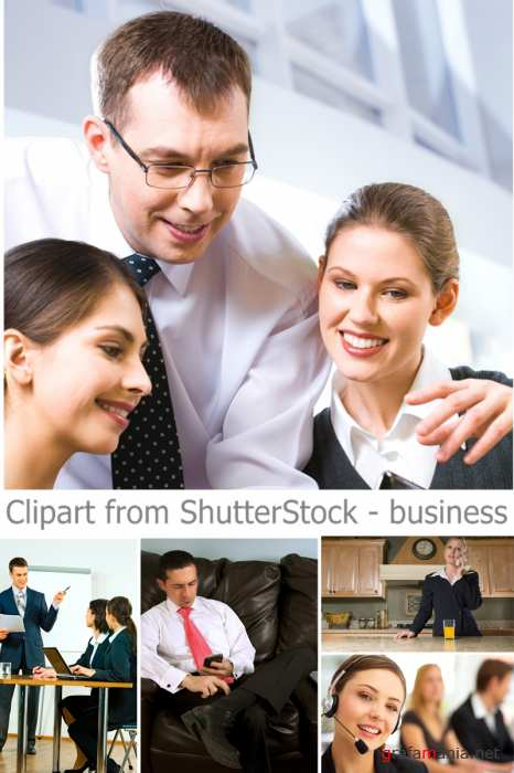 Clipart from ShutterStock - business