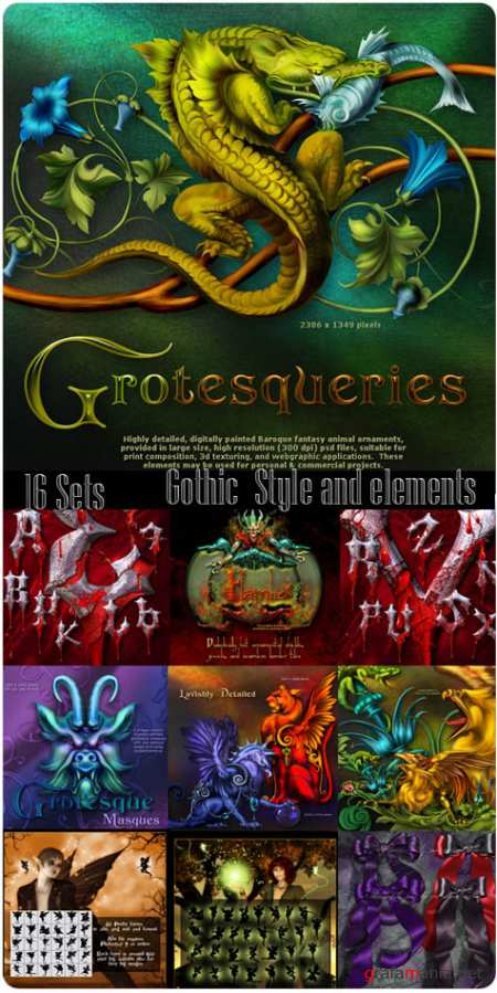 Gothics CD vol.1  (16 sets)