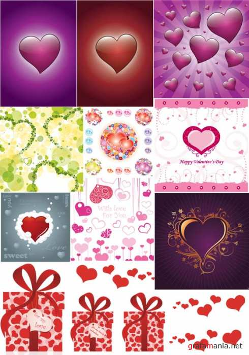 Valenyine vector set