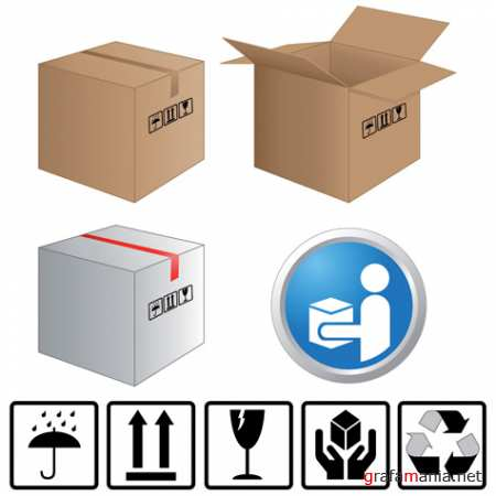 Boxes and stickers