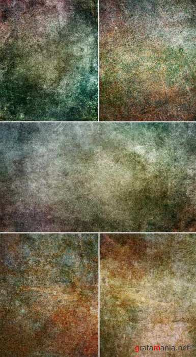 Colored Dark Grunge Textures