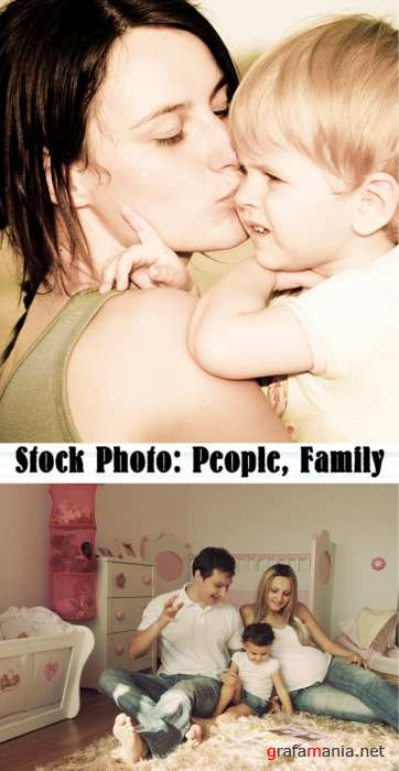 Stock Photo: People, Family