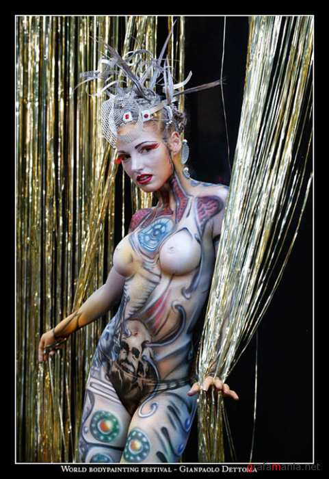 Artistic Body Painting Girls