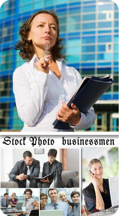 Stock Photo Businessmen