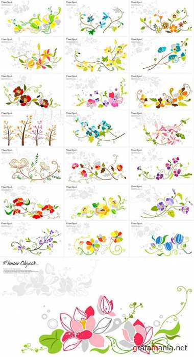 Flower objects