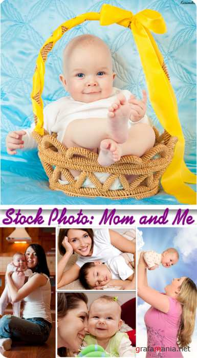 Stock Photo: Mom and Me