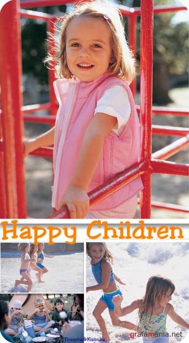 Stock Photo:  Happy Children