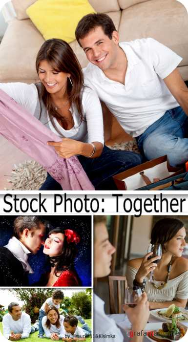 Stock Photo:  Together