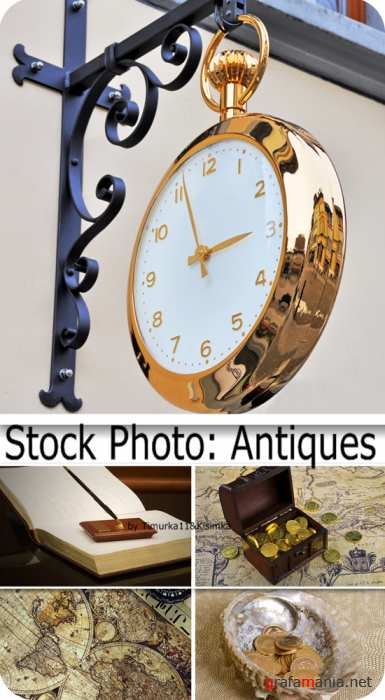 Stock Photo:  Antiques