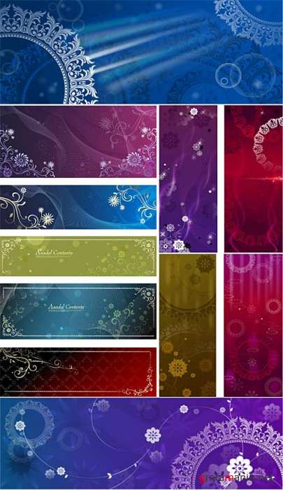 Decorative Ornament Vectors 2