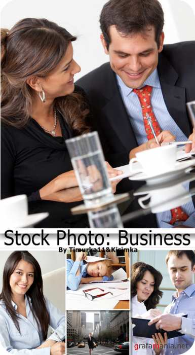 Stock Photo Business