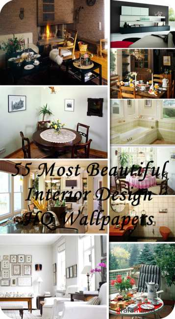 55 Most Beautiful Interior Design HQ Wallpapers