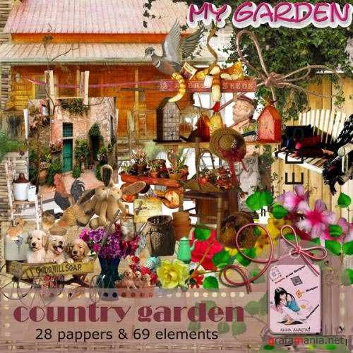 Скраб набор - Country Garden Sountry garden