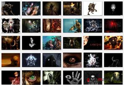 ���� ���� / Scary - Wallpapers (horror)