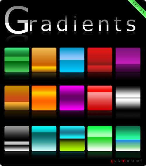 Градиенты (Gradients set #1)