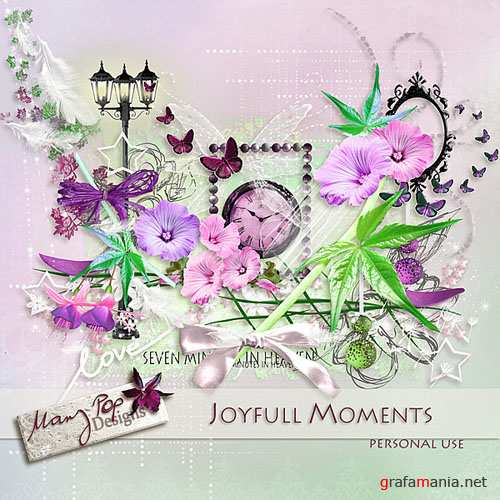 Скрап набор - Joyfull Moments