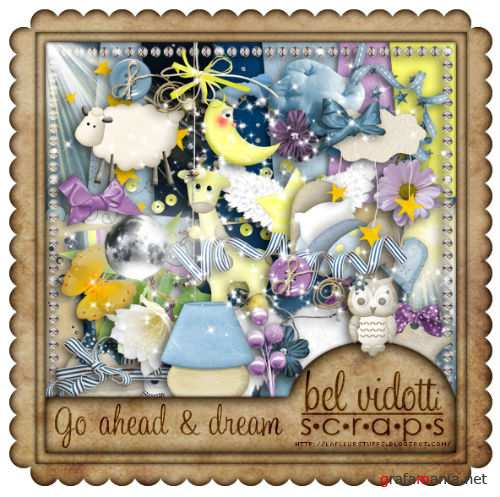 Scrap Kit - Go ahead and dream