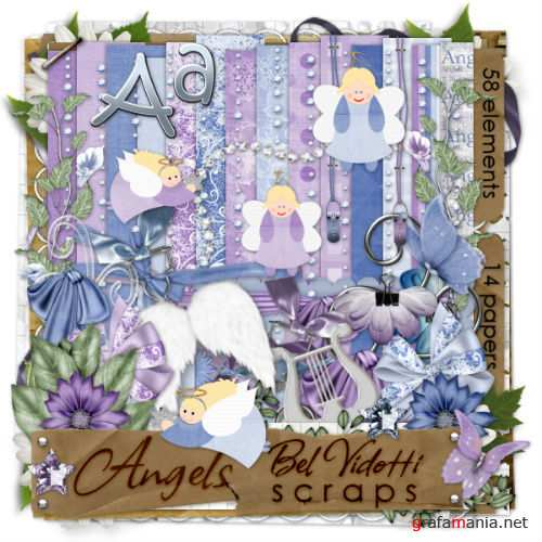 ScrapKit - Angels