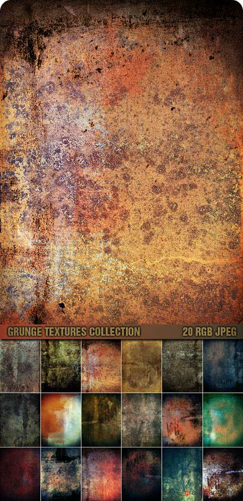Текстуры - Grunge Textures Collection