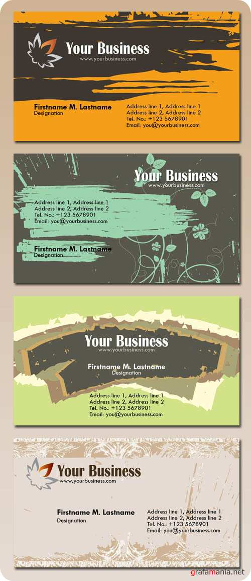 Business Card PSD Templates - Personal