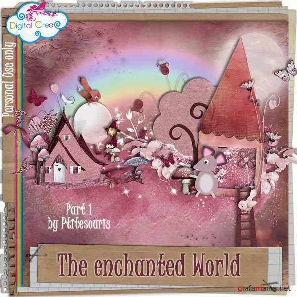 Скрап-набор - The enchanted World