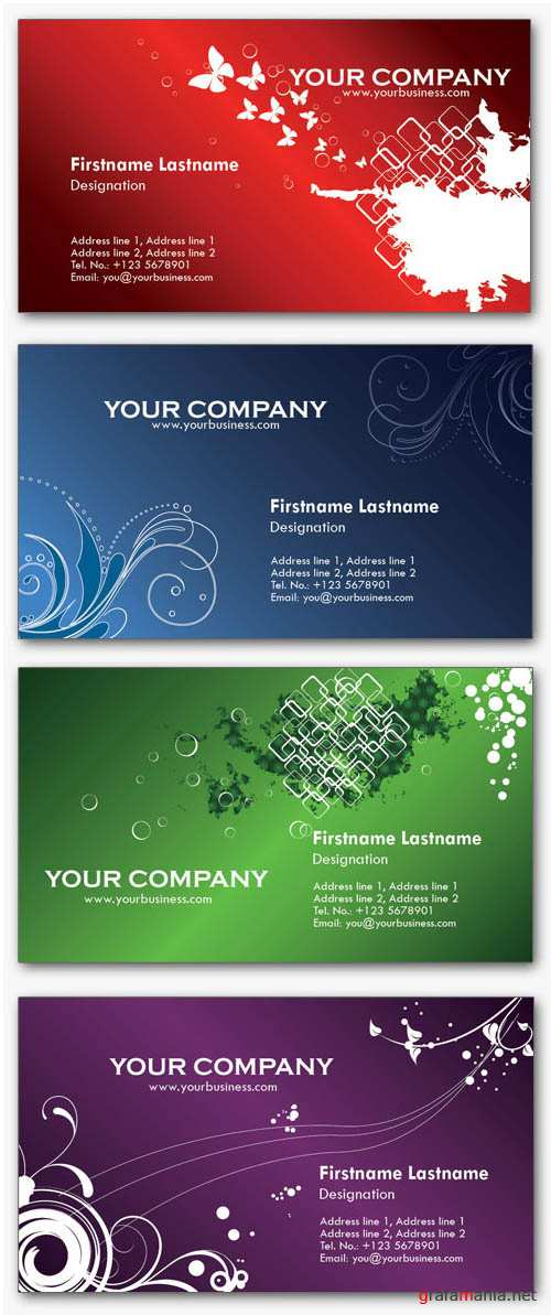 Business Card PSD Templates - Personal #2