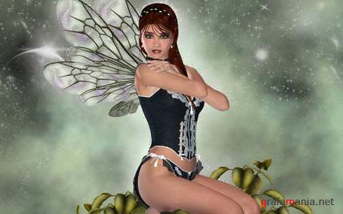 Amazing Fantasy and 3D Girls Wallpapers
