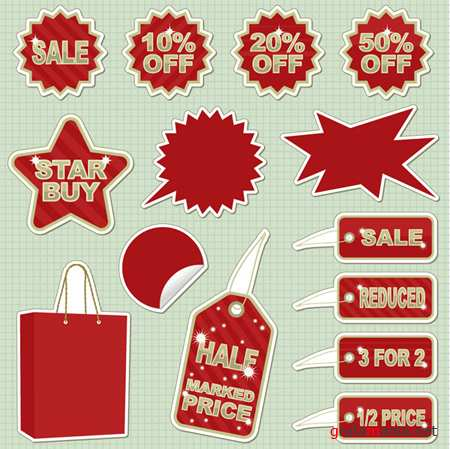 Sale! Vector material