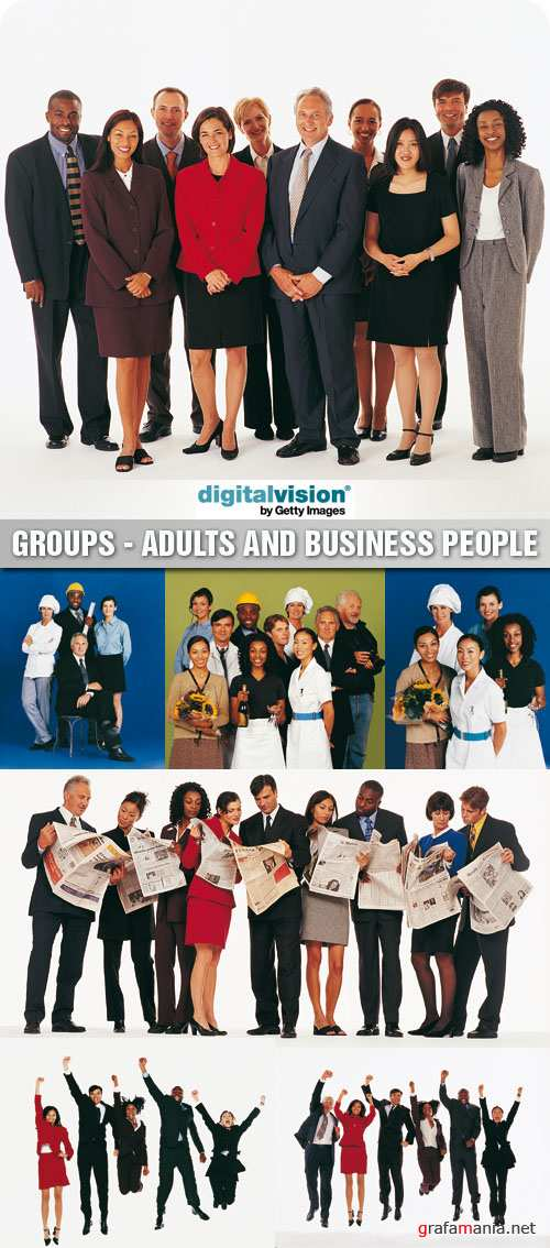 Digital Vision | DV168 | Groups - Adults and Business People