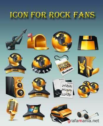 Icon for Rock Fans