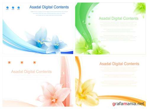 Asadal vector backgrounds