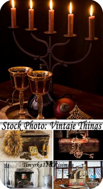 Stock Photo:  Vintaje things