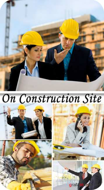 Stock Photo:  On construction site