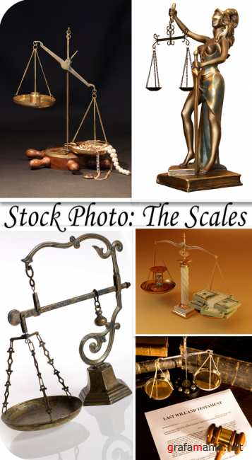 Stock Photo: The scales
