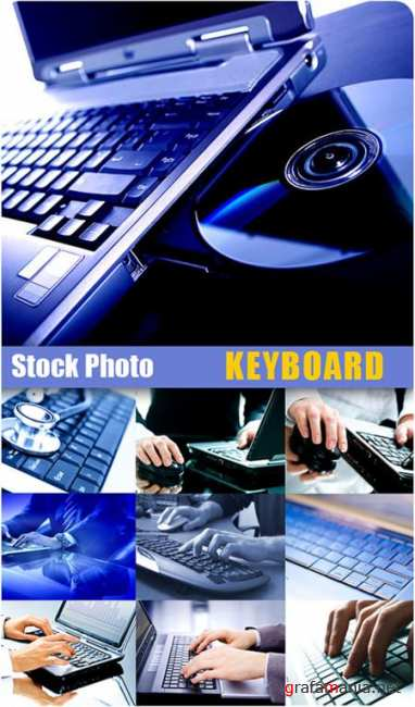 Stock Photo - Keyboard
