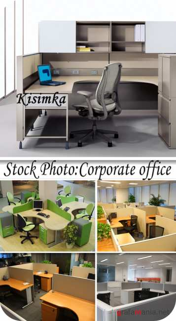 Stock Photo:  Corporate office