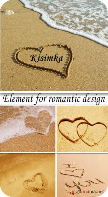 Stock Photo:  Element for romantic design