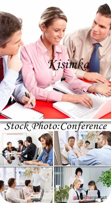 Stock Photo:  Conference