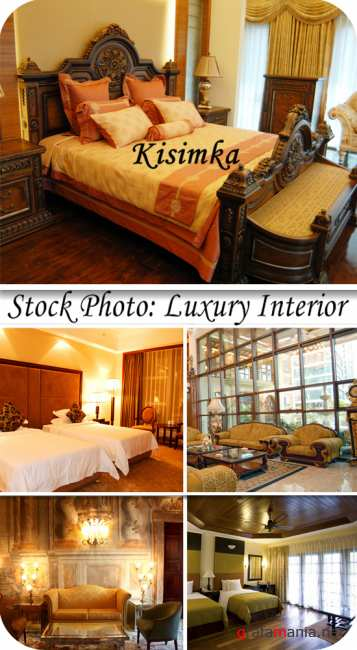 Stock Photo: Luxury interior