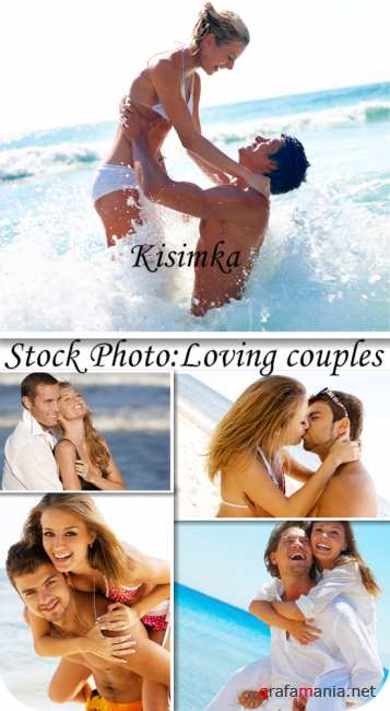 Stock Photo:  Loving couples