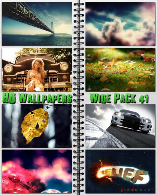HD Wallpapers Wide Pack №41