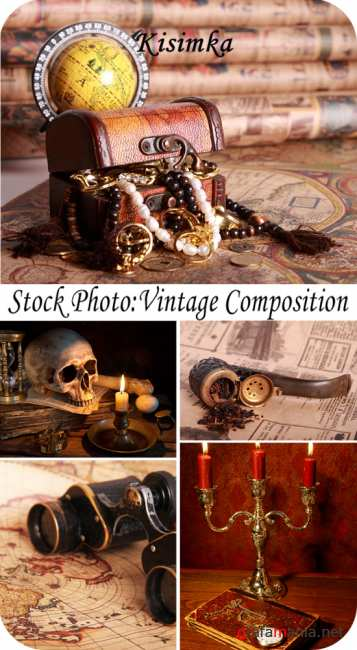 Stock Photo:  Vintage composition