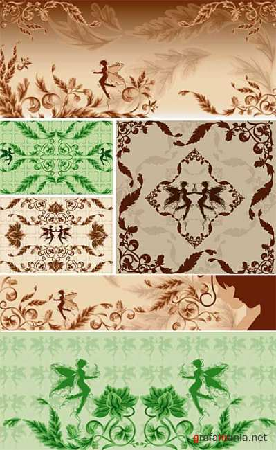 Decorative Ornament Vectors 4