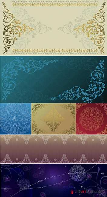 Decorative Ornament Vectors 5